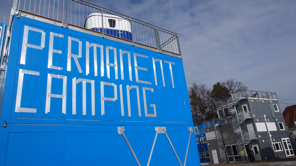 ContainerUni Permanent Camping