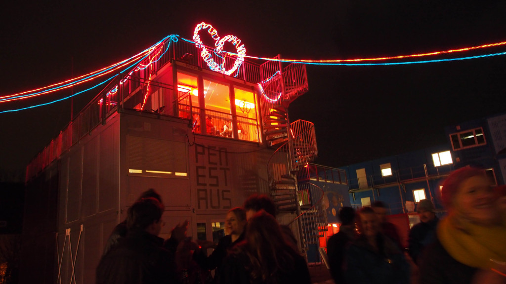 Glamorous Opening of ContainerUni in January 2013