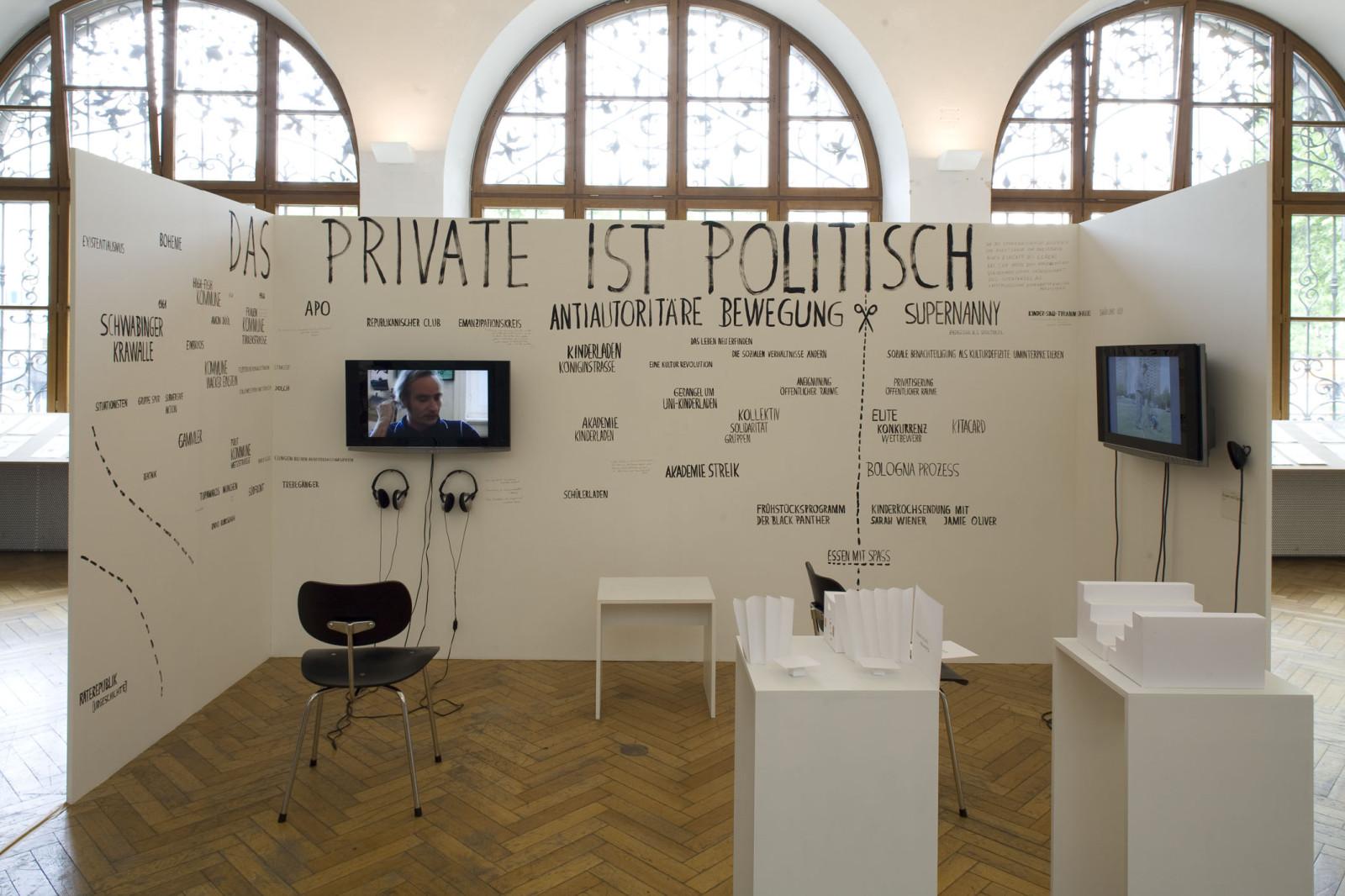essen mit Spass, Walden 3 Installation München_M.Czenki